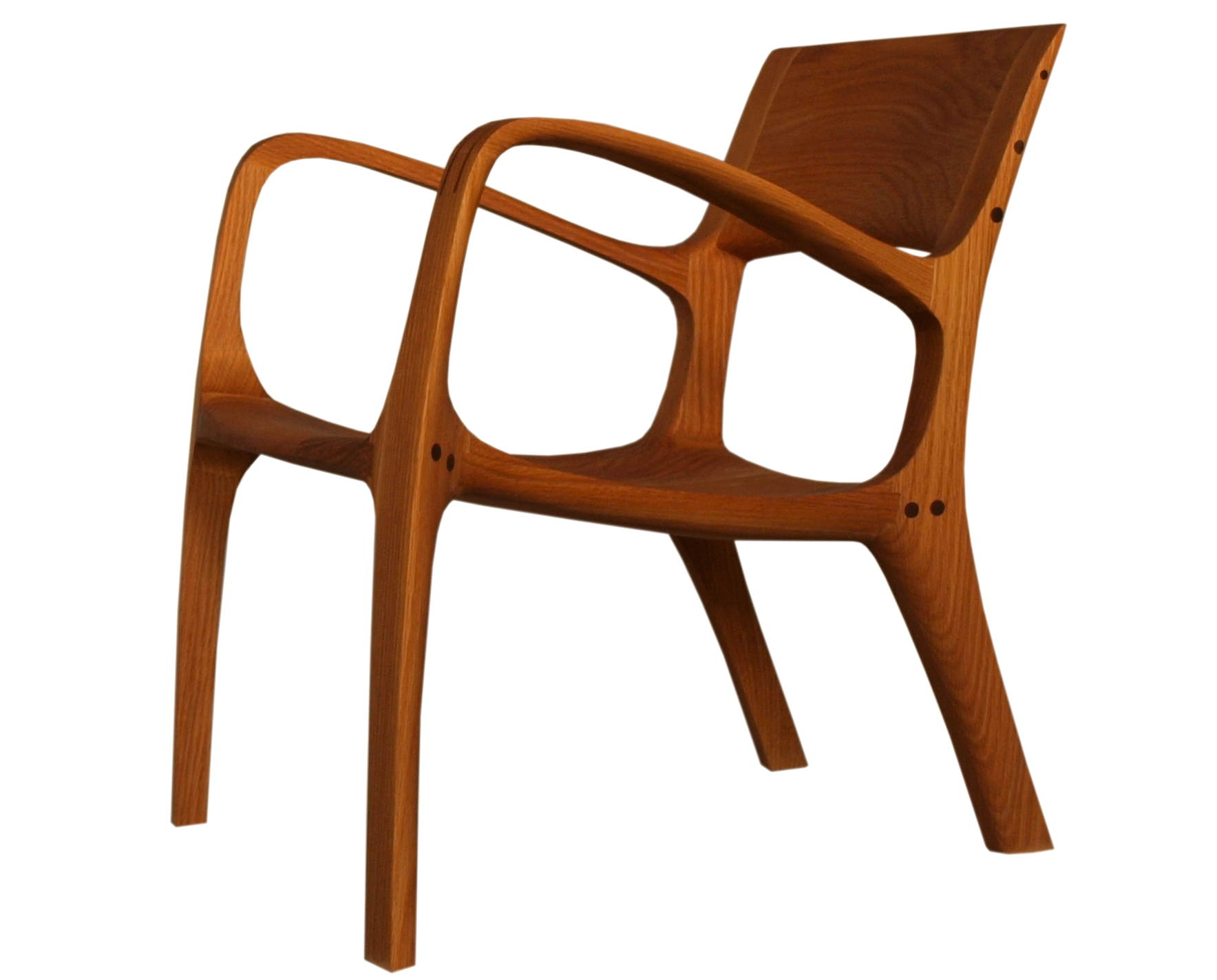 Lounge Chair oder Low Back aus Holz