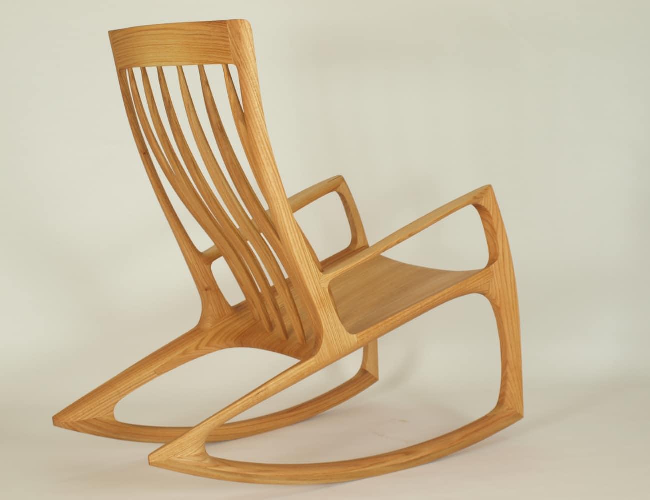 Schaukelstuhl aus Holz, Modellauswahl