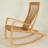 Rocking Chair made from massive wood
