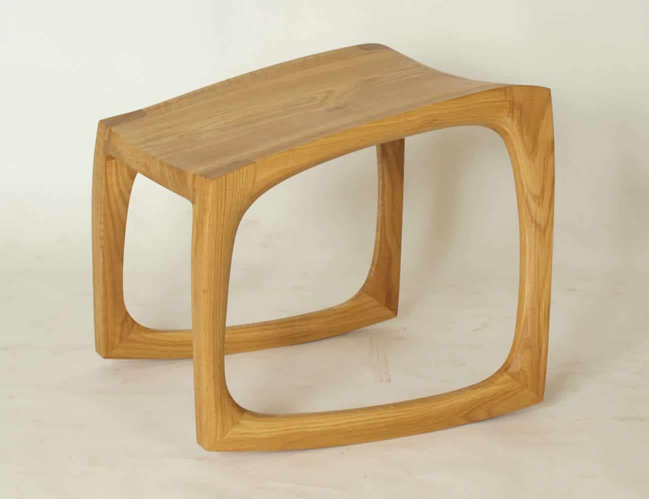 Fusshocker aus Holz, Modellauswahl